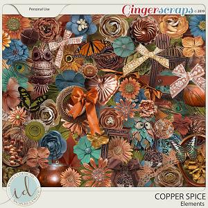 Copper Spice Elements by Ilonka's Designs