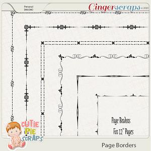 Page Borders 45 By Cutie Pie Scraps