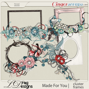 Made For You: Cluster Frames by LDragDesigns