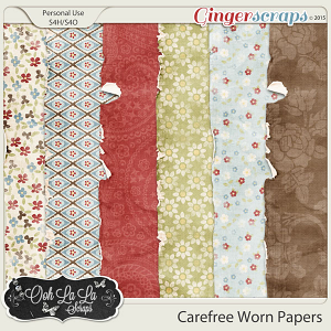 Carefree Worn Papers