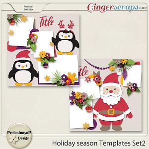 Holiday season Templates Set2