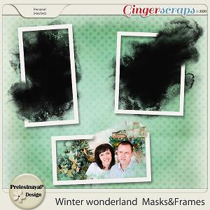 Winter wonderland Masks & Frames