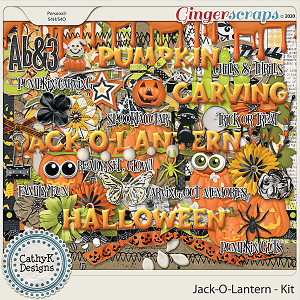 Jack-O-Lantern - Kit by CathyK Designs