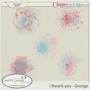 I Heart You Grunge