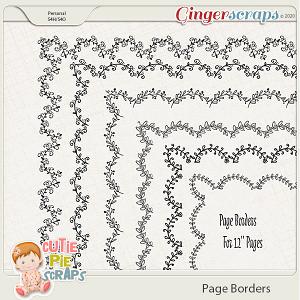 Page Borders 39 By Cutie Pie Scraps