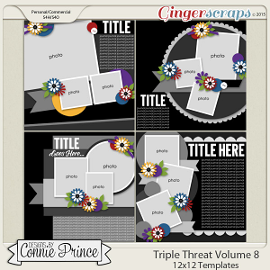 Triple Threat Volume 8 - 12x12 Temps (CU Ok)