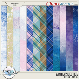 Winter Solstice - Extra Papers - by Neia Scraps