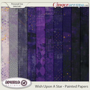 Wish Upon A Star - Painted Papers by Aprilisa Designs