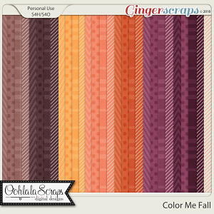 Color Me Fall Pattern Papers