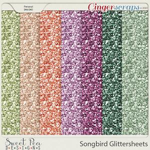 Songbird Glitter Sheets