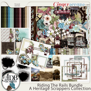 Riding the Rails Bundle by ADB Designs