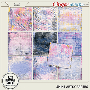 Shine Artsy Papers by JB Studio