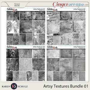 Artsy Textures Bundle 01 by Karen Schulz