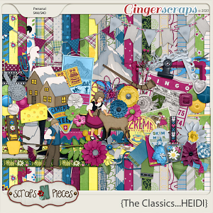 The Classics...Heidi kit by Scraps N Pieces