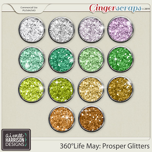 360°Life May: Prosper Glitters by Aimee Harrison