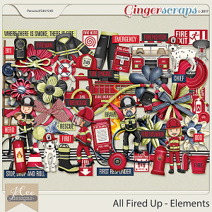 All Fired Up Elements