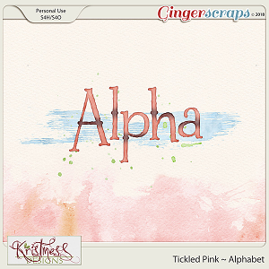 Tickled Pink Alphabet