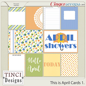 This is April Cards 1.