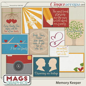 Memory Keeper JOURNAL CARDS by MagsGraphics