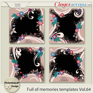 Full of memories Templates Vol.64
