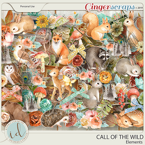 Call Of The Wild Elements by Ilonka's Designs
