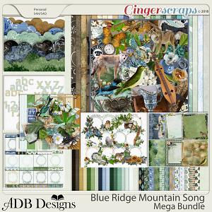 Blue Ridge Mountain Song Mega Bundle by ADB Designs