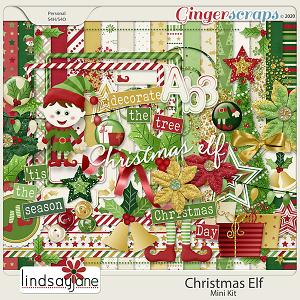 Christmas Elf by Lindsay Jane