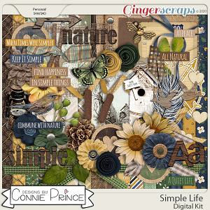 Simple Life - Kit by Connie Prince