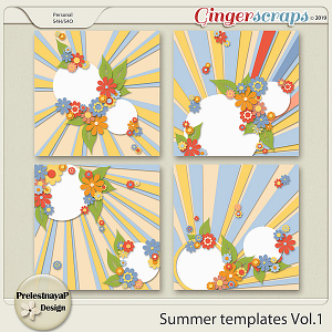 Summer Templates Vol.1