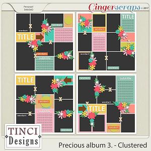 Precious album 3. - Clustered