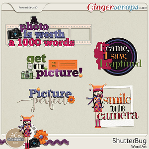 Shutterbug Word Art by JoCee Designs