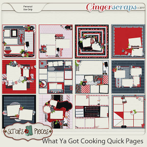What Ya Got Cooking Quick Pages