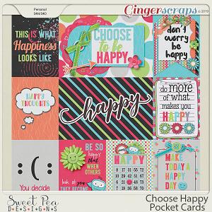 Choose Happy Pocket Cards