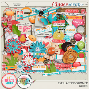 Everlasting Summer Elements by JB Studio and Neia Scraps