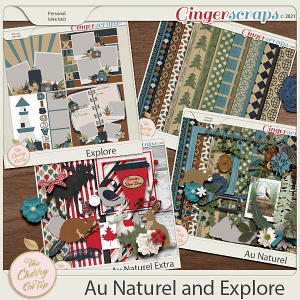 The Cherry On Top Collection:  Explore and Au Natural