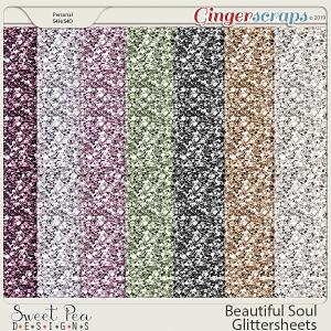 Beautiful Soul Glittersheets