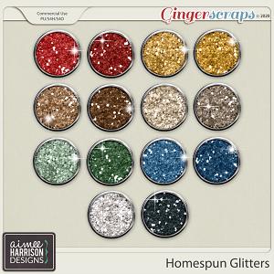 Homespun Glitters by Aimee Harrison