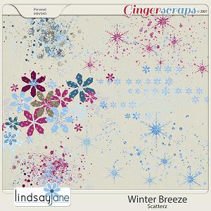 Winter Breeze Scatterz by Lindsay Jane