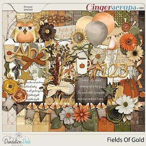 Fields Of Gold Digital Scrapbook Collection by Dandelion Dust Designs