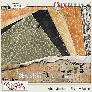 After Midnight Shabby Papers