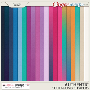 Authentic - Solid Papers - by Neia Scraps