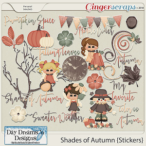 Shades of Autumn {Stickers} by Day Dreams 'n Designs