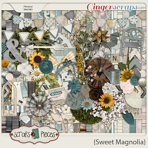 Sweet Magnolia by Scraps N Pieces