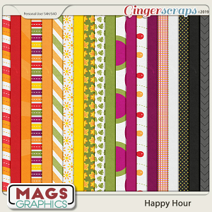 Happy Hour PAPER PACK by MagsGraphics