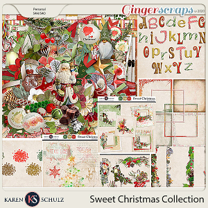 Sweet Christmas Collection by Snickerdoodle Designs and Linda Cumberland Designs
