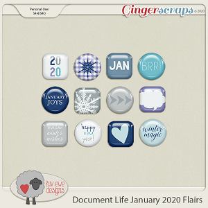 Document Life January 2020 Flairs by Luv Ewe Designs