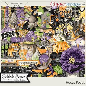 Hocus Pocus Digital Scrapbook Kit
