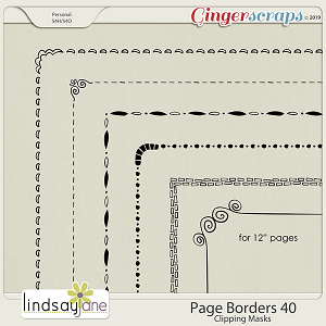 Page Borders 40 by Lindsay Jane