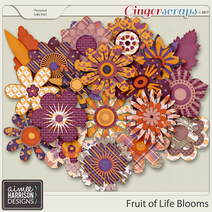 Fruit of Life Blooms by Aimee Harrison