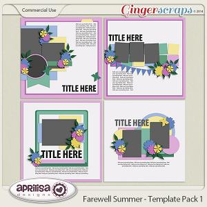 Farewell Summer - Template Pack 1